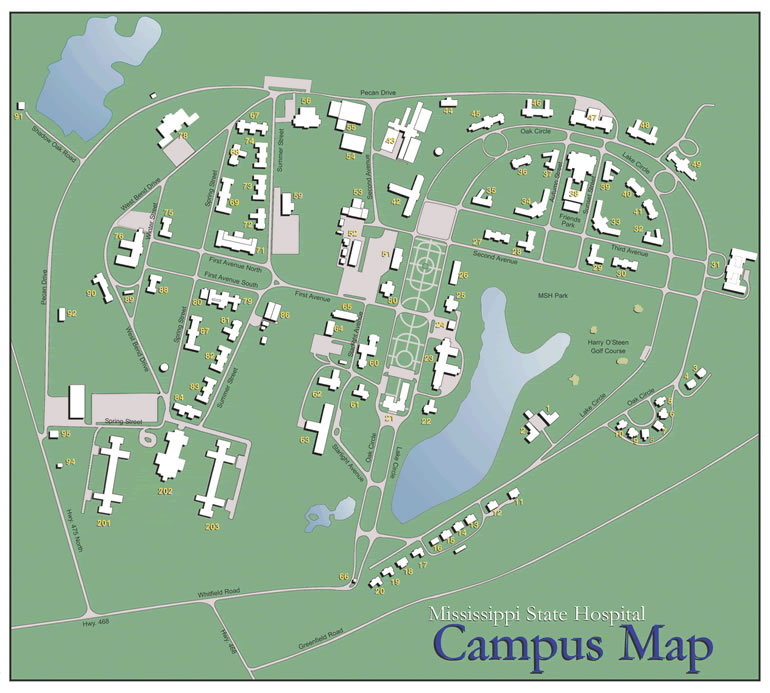 Msh Campus Map